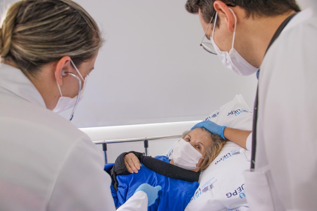 Hospital Universitário trabalha com atenção integral à saúde do idoso